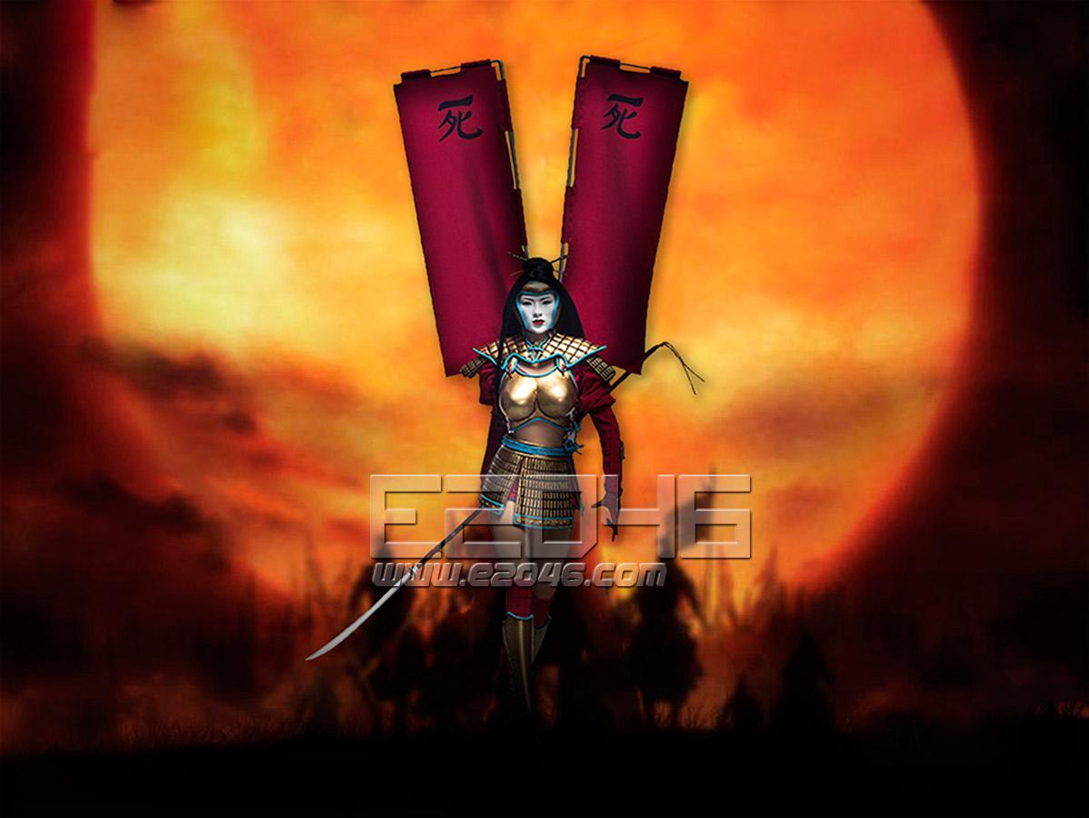 Ninja SHI in Battle Armor (Dolls)