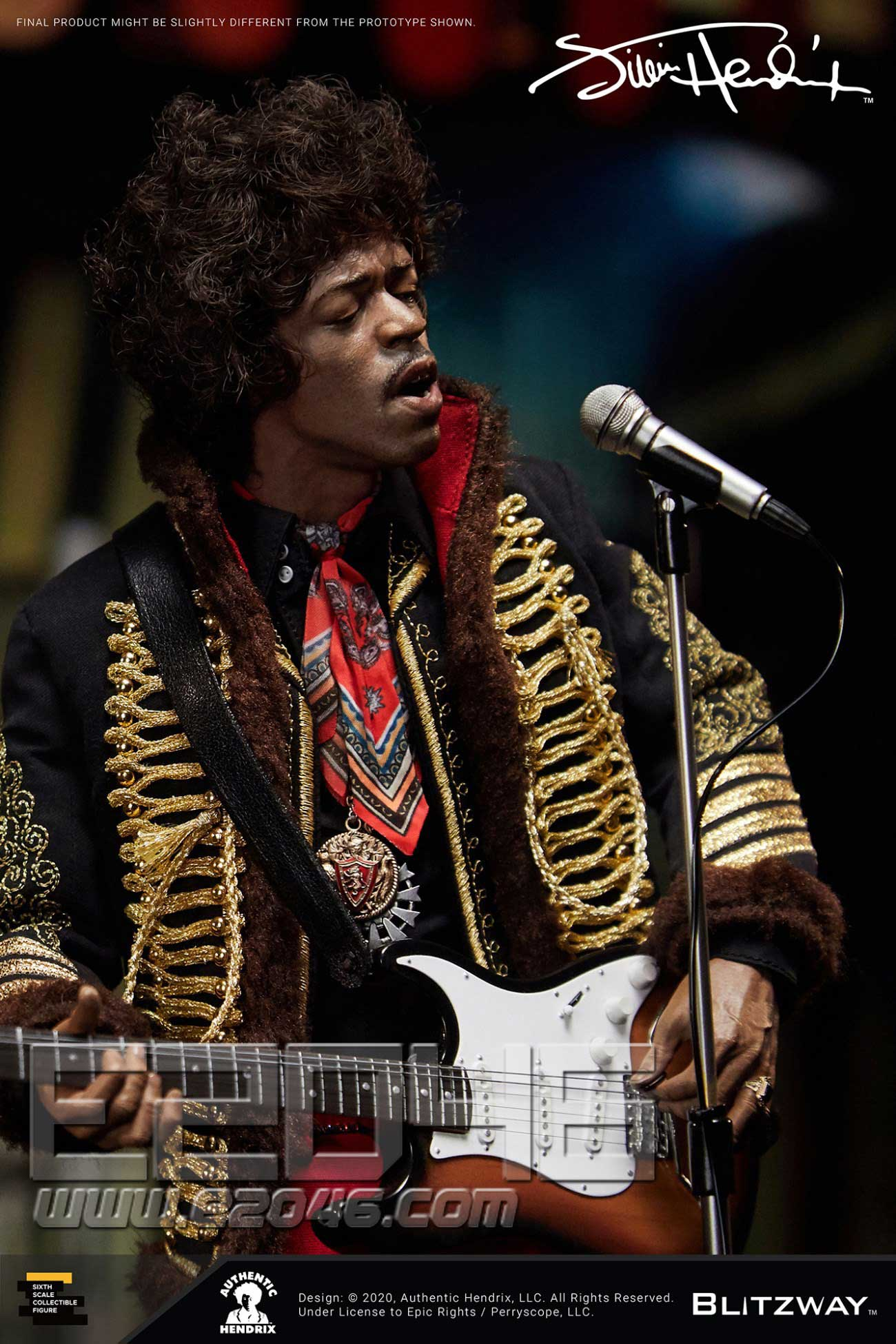 Jimi Hendrix (DOLL)