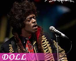 DL3709 1/6 Jimi Hendrix (DOLL)