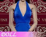 DL0522 1/6 Ladies sexy low-cut halter dress suit E (Doll)