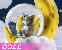 DL2976  Tom and Jerry Cheese Moon Crystal Ball (DOLL)
