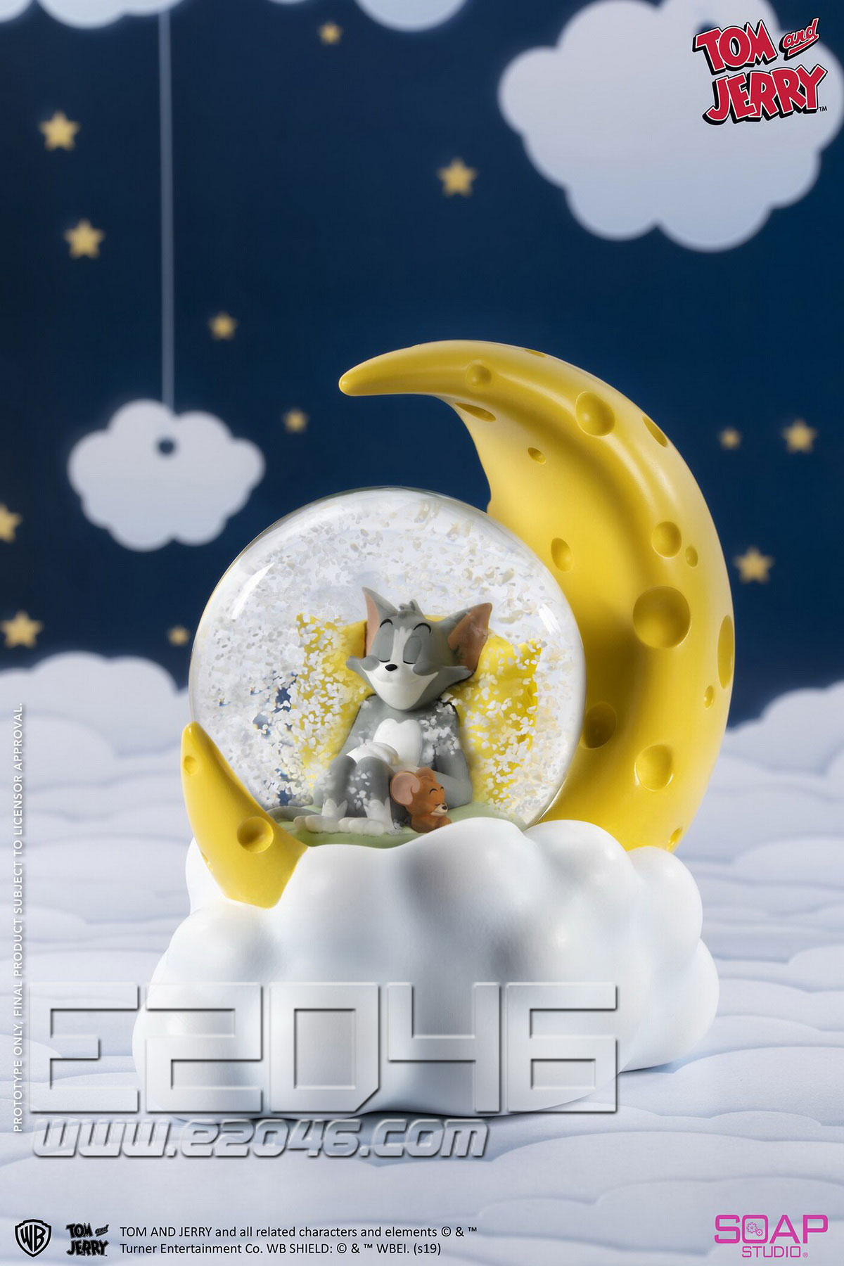 Tom and Jerry Cheese Moon Crystal Ball (DOLL)