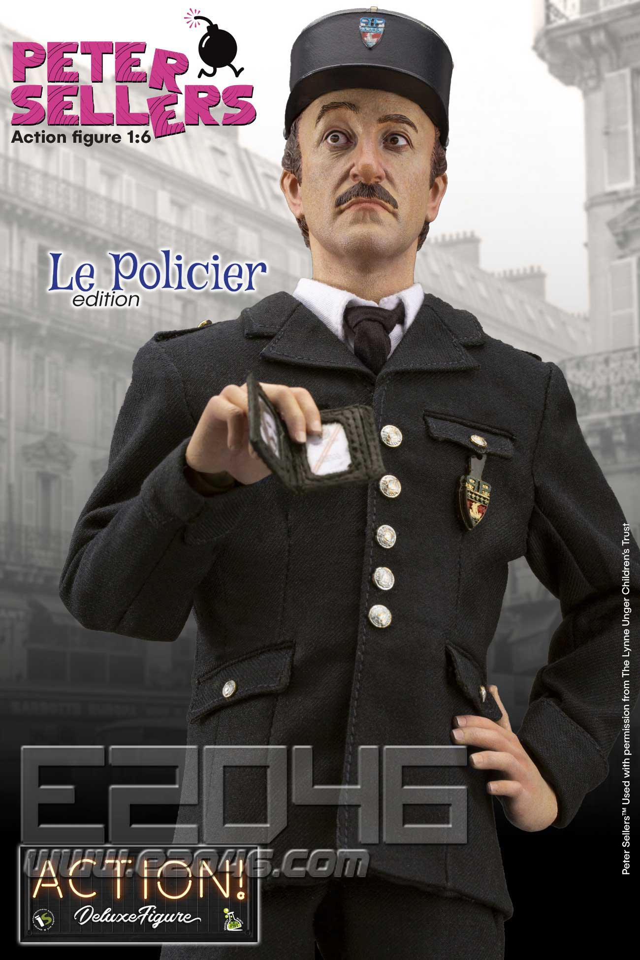 Peter Sellers Policier (DOLL)