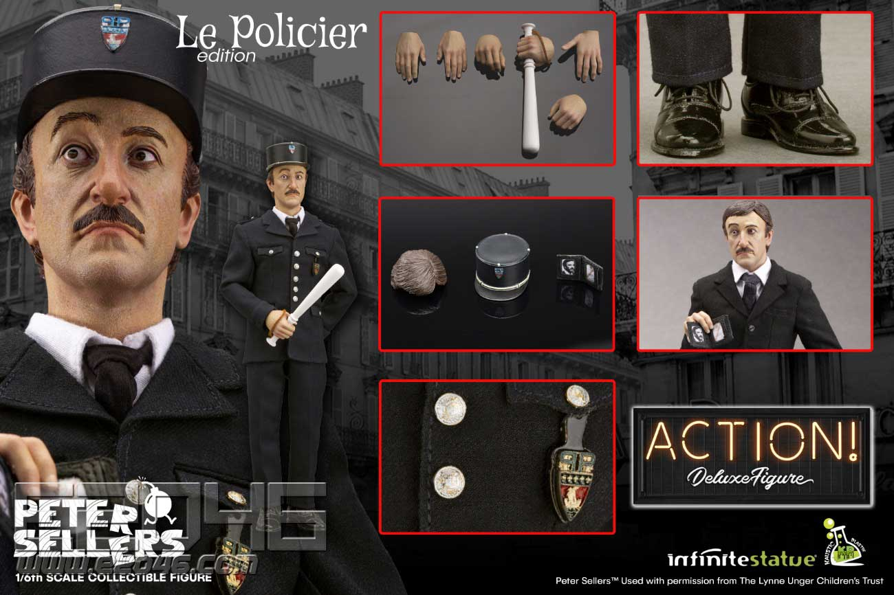 Peter Sellers Policier (DOLL)