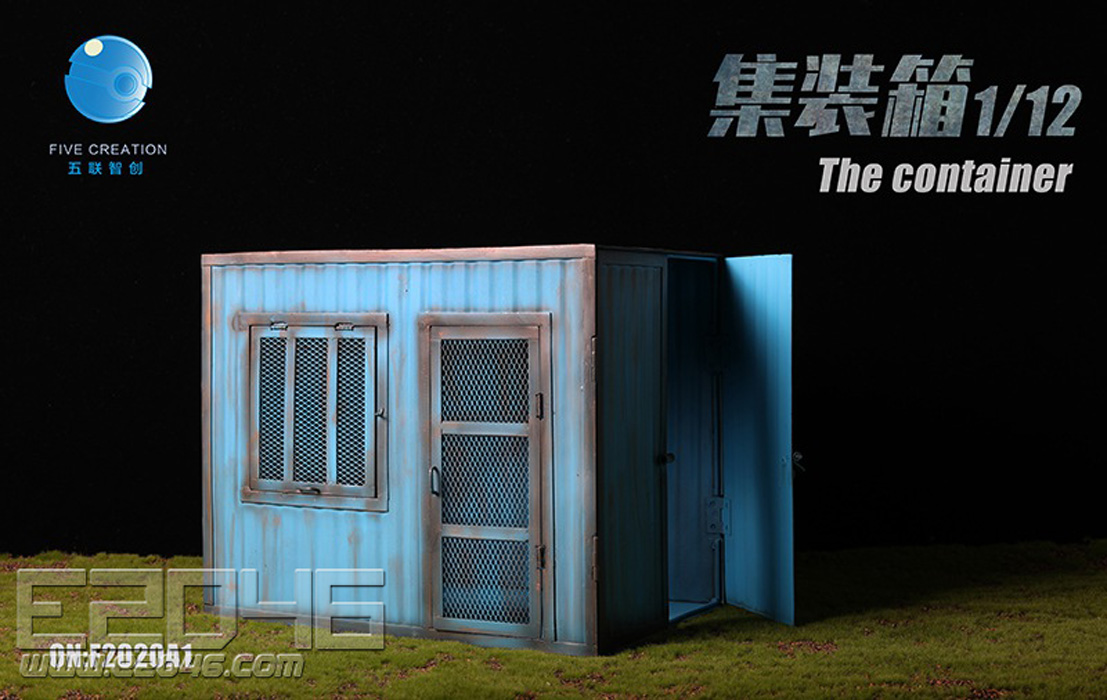 Container Cabin A (DOLL)