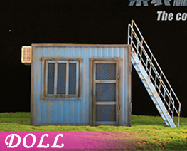 DL4555 1/12 Container Cabin A (DOLL)