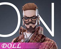 DL4860 1/6 Oily Hairdresser (DOLL)