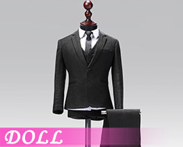 DL1839 1/6 Male Western-style Clothes Suit Solid Colors Version A (DOLL)