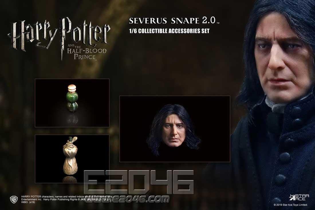 Severus Snape Head (DOLL)