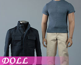 DL2785 1/6 Mens Jacket Suit (DOLL)