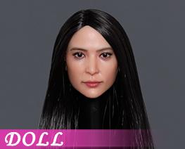 DL4027 1/6 Asian Beauty Head Sculpture C (DOLL)