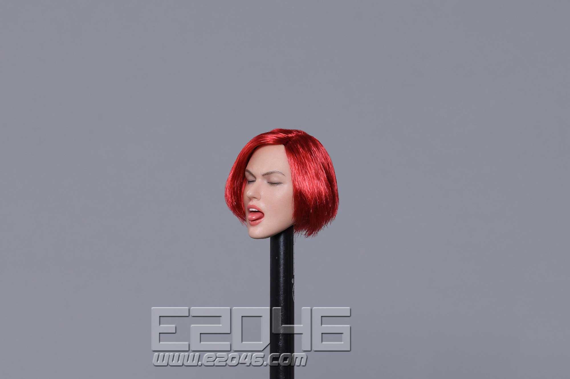 Sexy female head E (DOLL)
