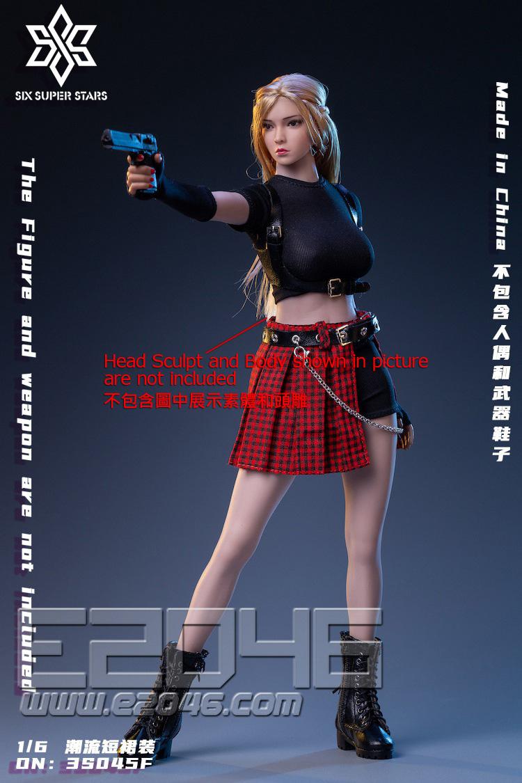 Trendy Short Skirts F Costume Set (DOLL)