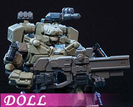 DL2561  铁骸02攻击机甲分色拼装版 (人偶)