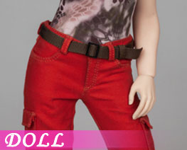 DL3167 1/6 Female Pants Red Version (DOLL)