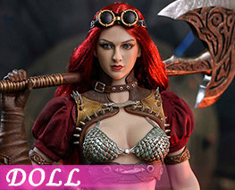 DL1955 1/6 Steam Punk Red Sonja Deluxe Version (DOLL)
