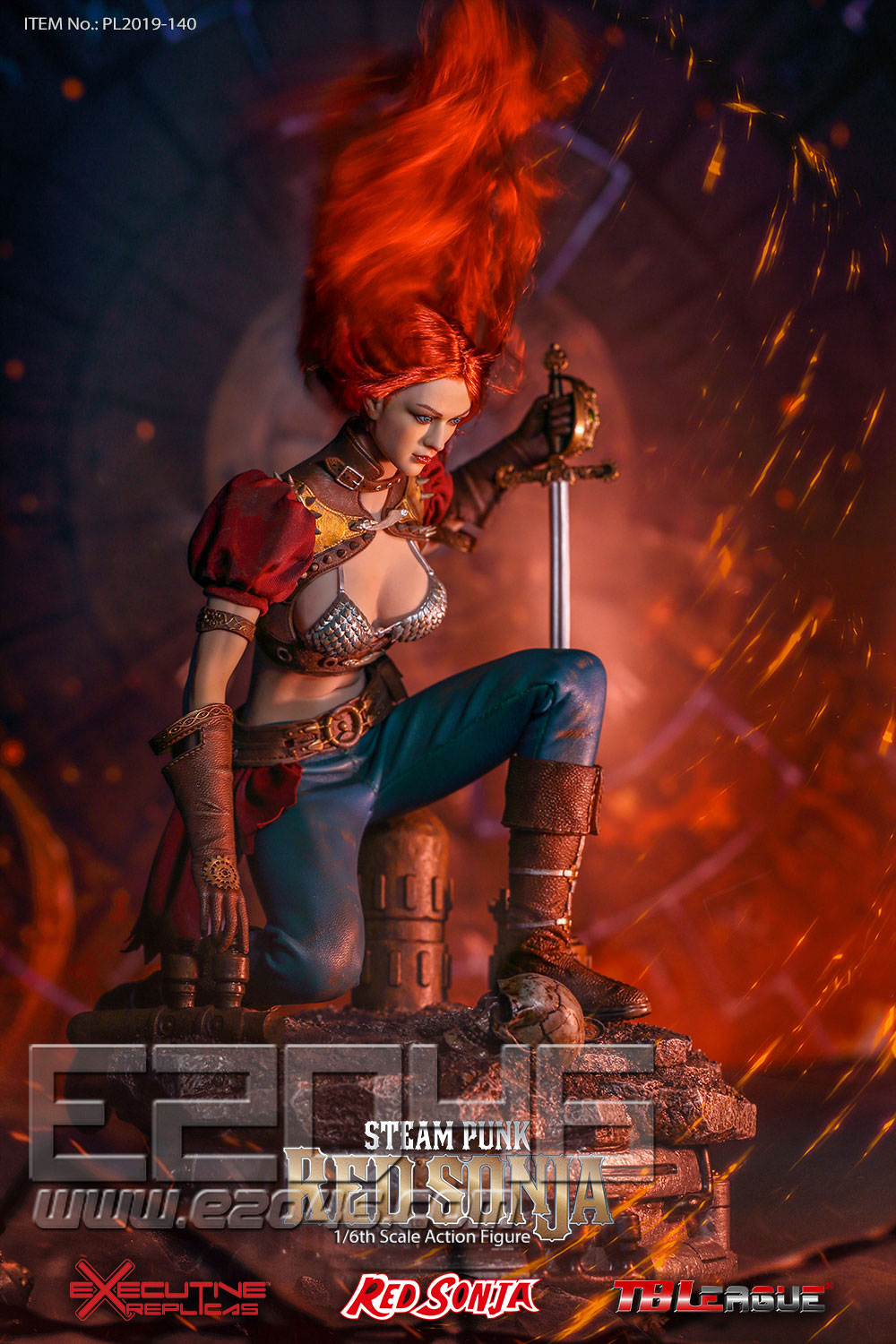 Steam Punk Red Sonja Deluxe Version (DOLL)