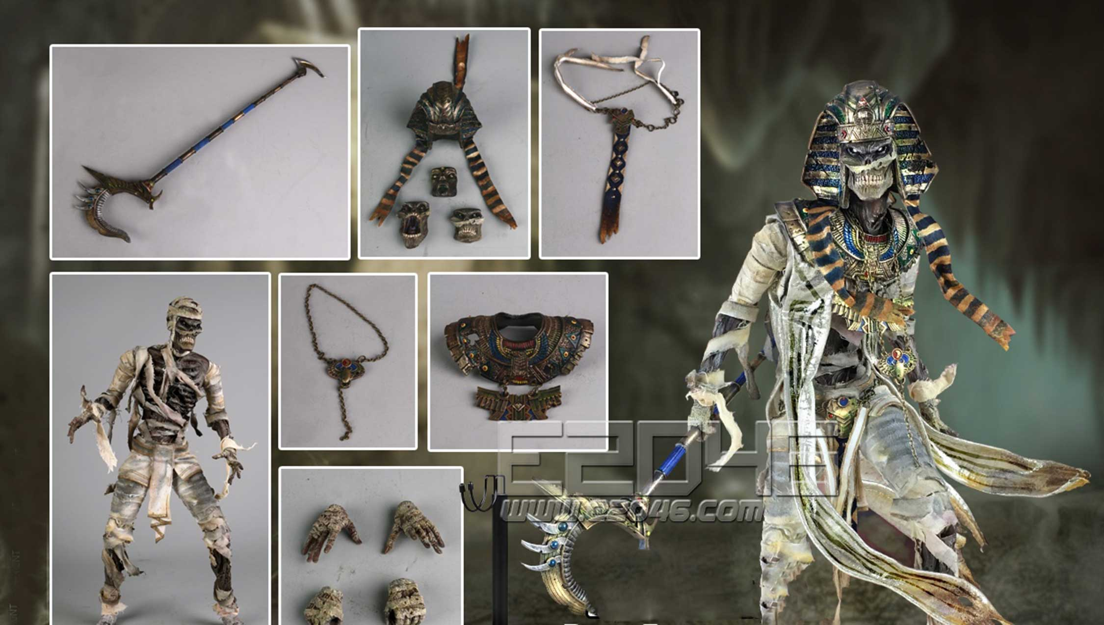 Monster  File The Mummy A (DOLL)