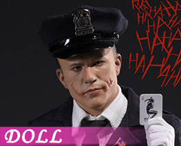 DL4653 1/6 Police Clown (DOLL)
