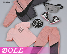 DL4158 1/6 Trendy Sports Suit C (DOLL)