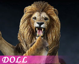 DL1700 1/12 African Lion VS Spotted Dog Set A (DOLL)