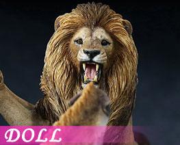 DL1700 1/12 非洲雄狮VS斑鬣狗套装 A (人偶)