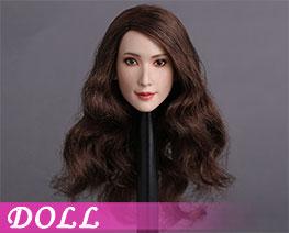 DL1279 1/6  Asian Actress Head Sculpt A (Doll)