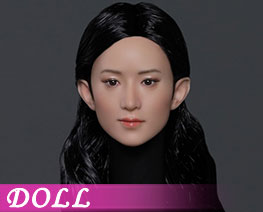 DL3485 1/6 亞洲美女頭雕 C (人偶)