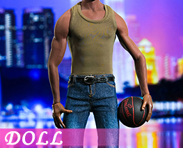 DL3958 1/6 Green Vest Jeans Suit (DOLL)