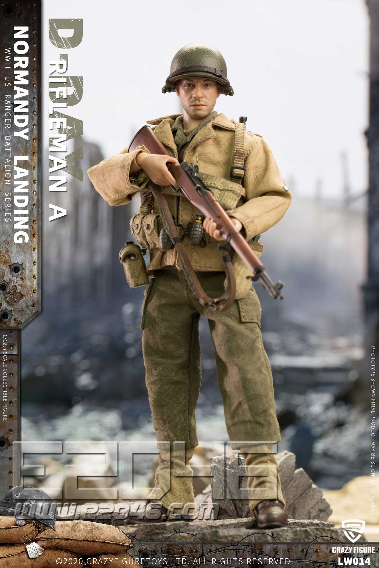 US Riflemen Of World War II B (DOLL)