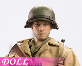 DL4349 1/12 US Riflemen Of World War II B (DOLL)