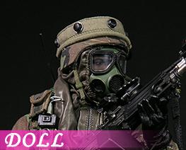 DL4086 1/6 Gunner Sergeant Major Klers (DOLL)