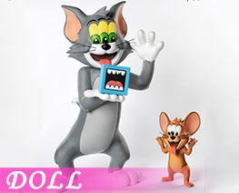 DL3009  貓和老鼠 (人偶)