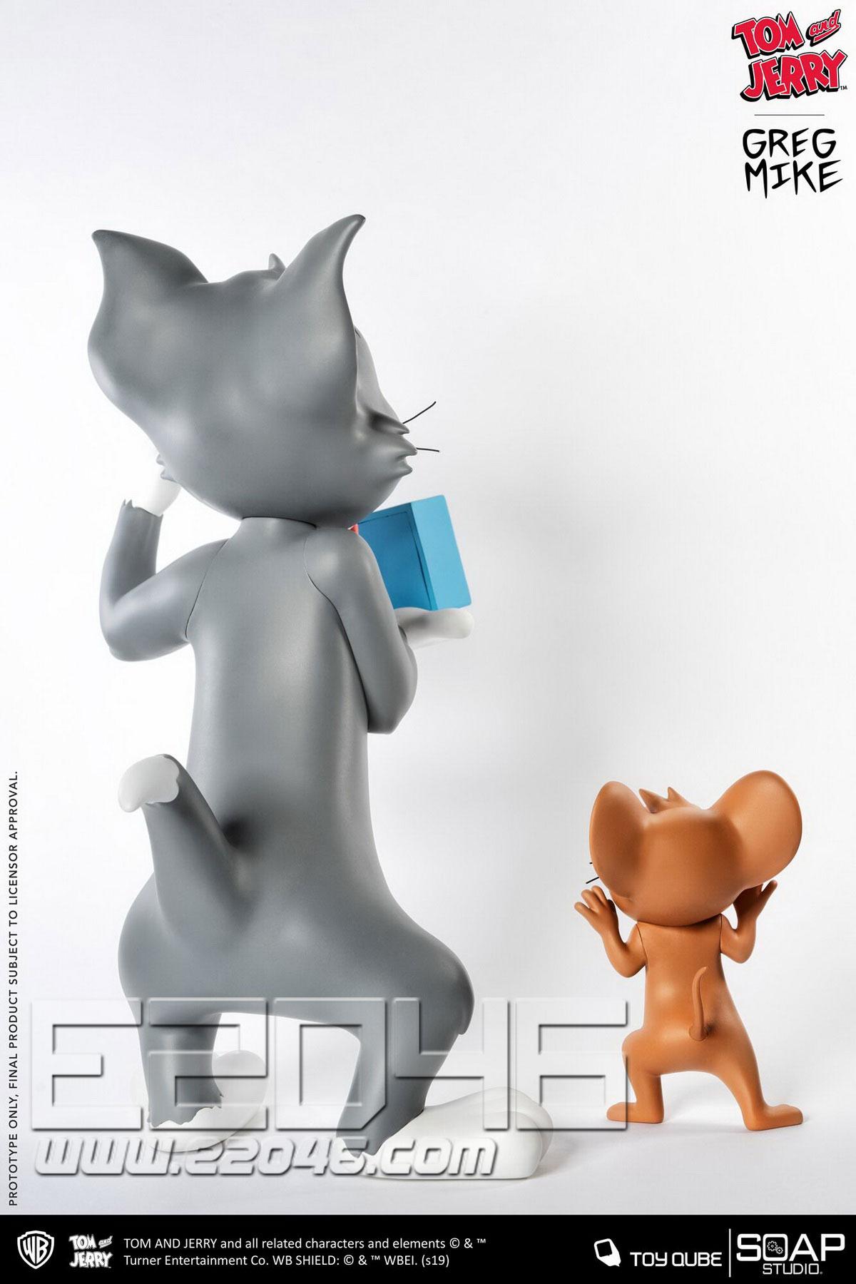 猫和老鼠 (人偶)
