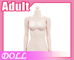 DL0879 1/6 Steel skeleton femalebody white skin color A (Doll)