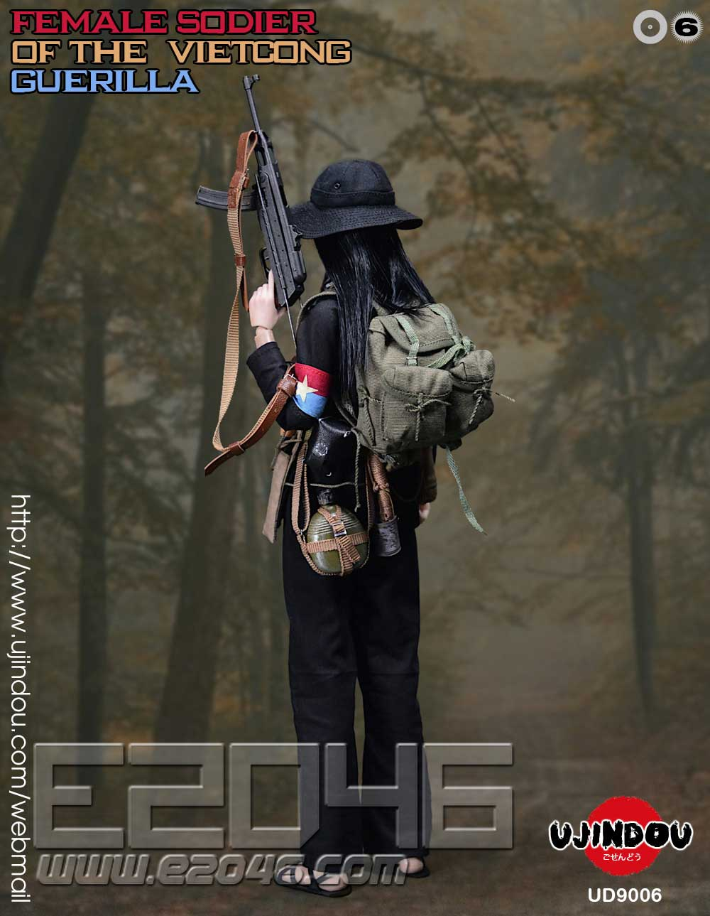 Female Viet Cong Guerrilla Soldier (DOLL)