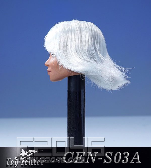 European Model Of Female Head With Hair Transplant A (DOLL)