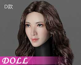 DL2587 1/6 Asian Beauty Head Carving D (DOLL)