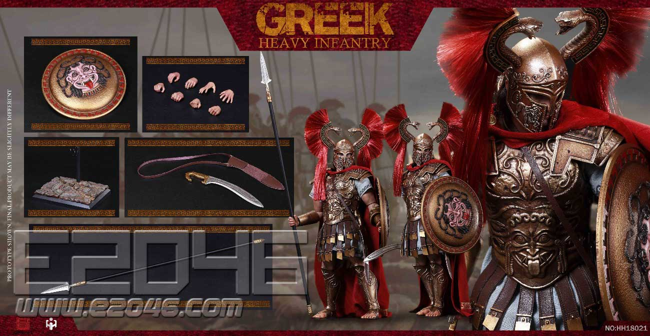 Greek Heavy Infantry (DOLL)