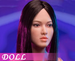 DL3549 1/6 AsianFemale Head D (DOLL)