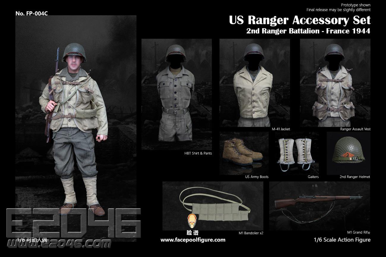 WWII U.S. Army Ranger Accessory Kit (DOLL)
