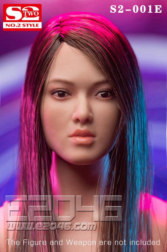 AsianFemale Head E (DOLL)
