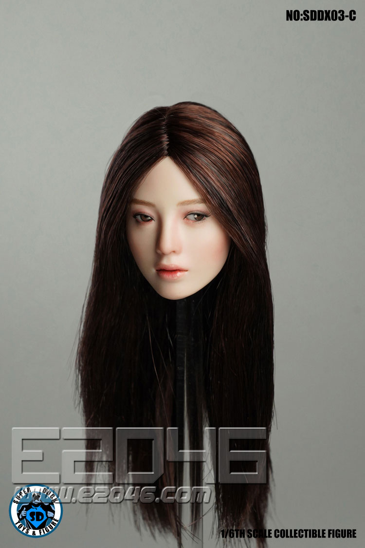 Movable Female Head C (DOLL)