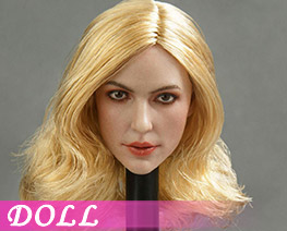 DL1398 1/6 European and American Beauty Head Sculpt C (DOLL)
