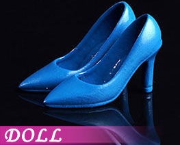 DL2230 1/12 Fashion High Heels Blue (DOLL)