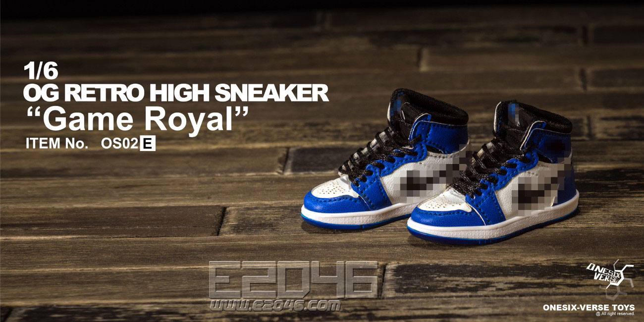 OG Retro High Sneaker Serise E (DOLL)