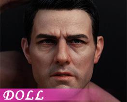 DL4933 1/6 Tough Guy Head Sculpture A (DOLL)