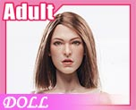 DL0611 1/6 Female Body Version 3.0 + VCF-2021 Female Head Sculpt B (Doll)
