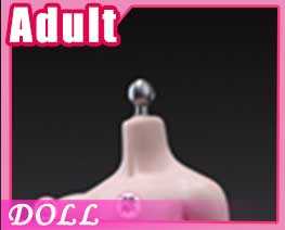 DL1434 1/6 White Middle Breast Flexible Female Seamless Body C (DOLL)