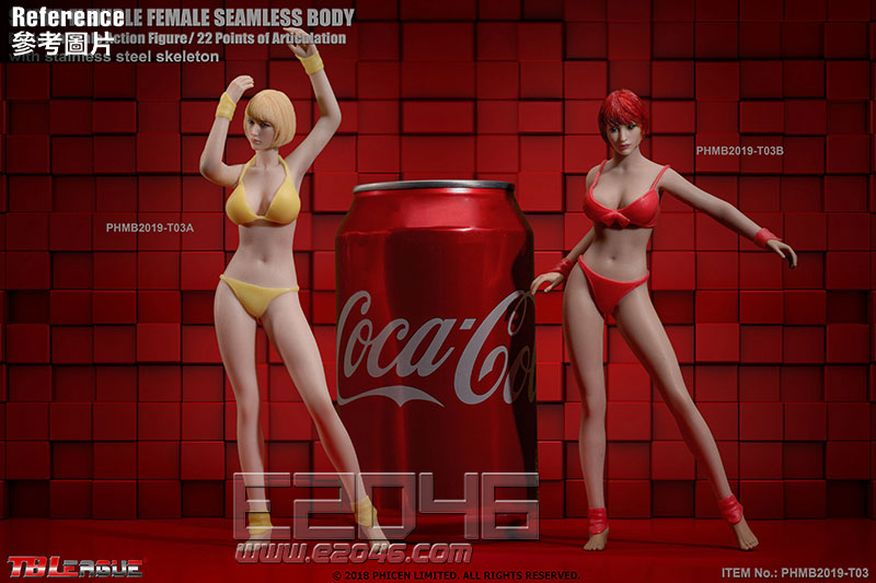 Flexible  Female Seamless Body A (DOLL)